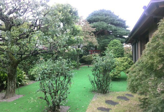 個人宅の庭園管理